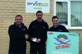 First Big Winner of 'Best of Brakes' Promotion