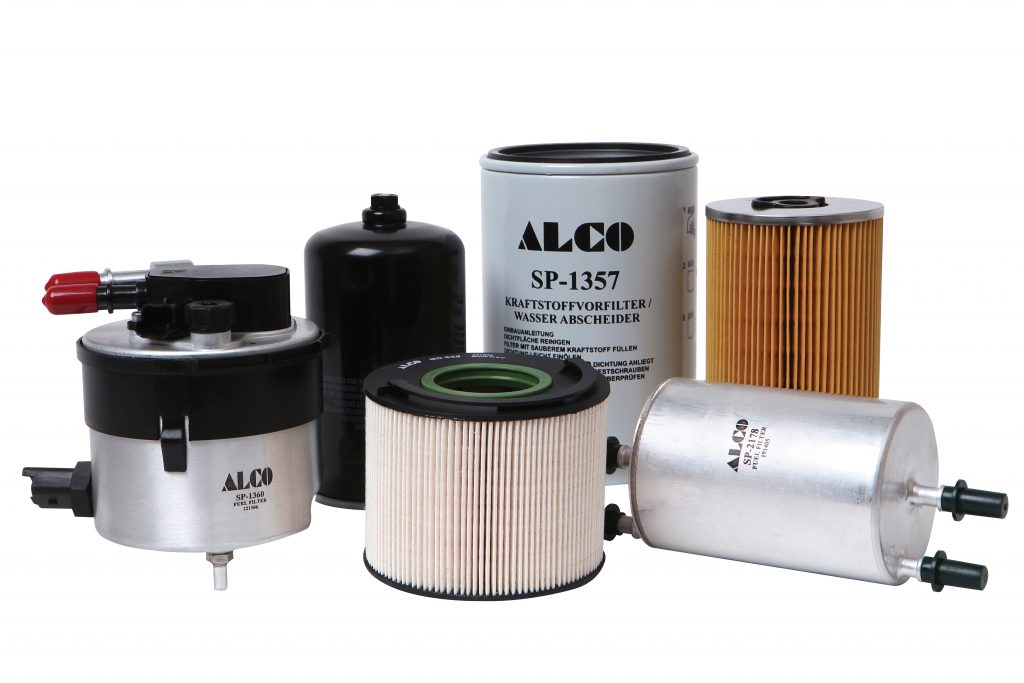 alco says it provides a range of over 500 high quality fuel filters that  protect the injection systems against wear and corrosion
