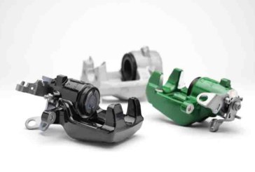 Colour Calipers from Brake Engineering