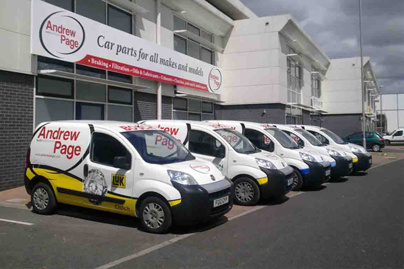 Euro Car Parts Acquisition Of Andrew Page Professional Motor Factor
