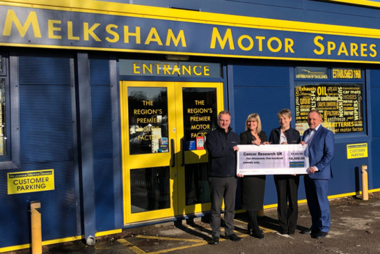 Melksham Motor Spares Raise £17,500 for Charity