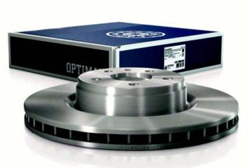 Coated brake discs