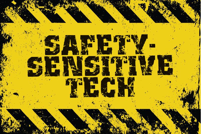 Safety-Sensitive Tech