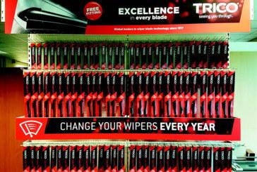 Trico: Wiper blade display