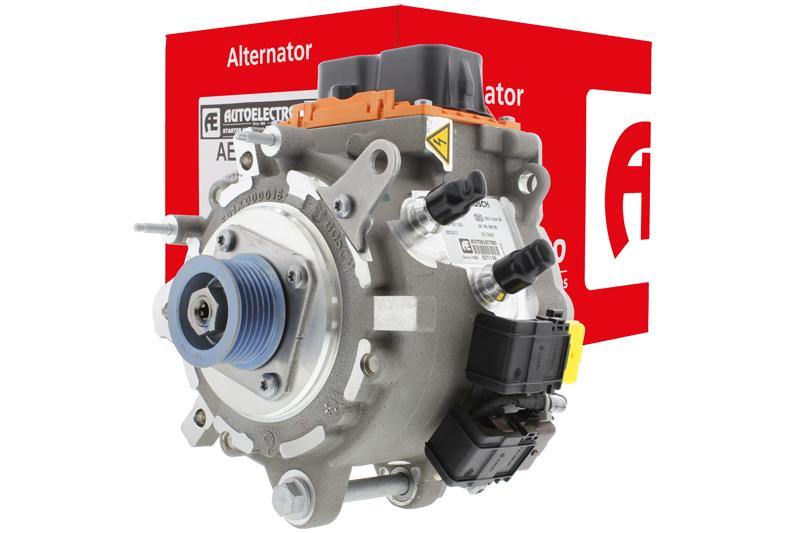 Reversible alternator/starter motor