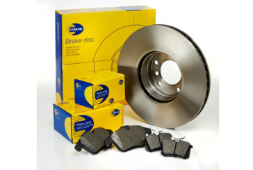 Brake pad and coated disc references