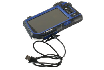 Endoscope with LCD display