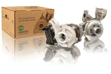 Melett turbochargers