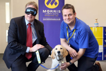 Morris Lubricants and sister companies fundraise for charity