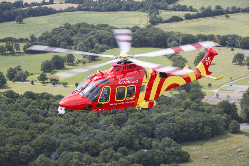 Total UK supplies fuel to two air ambulance services