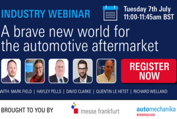Automechanika Birmingham launches webinars