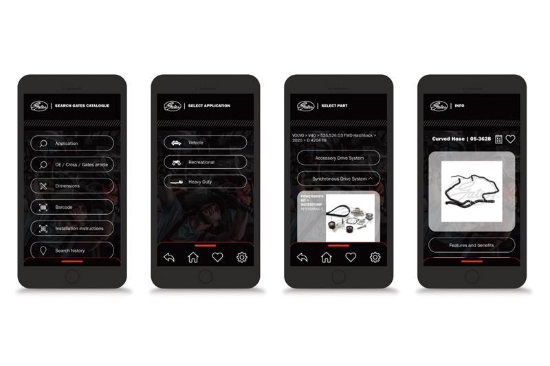 Gates launches Automotive Catalogue App