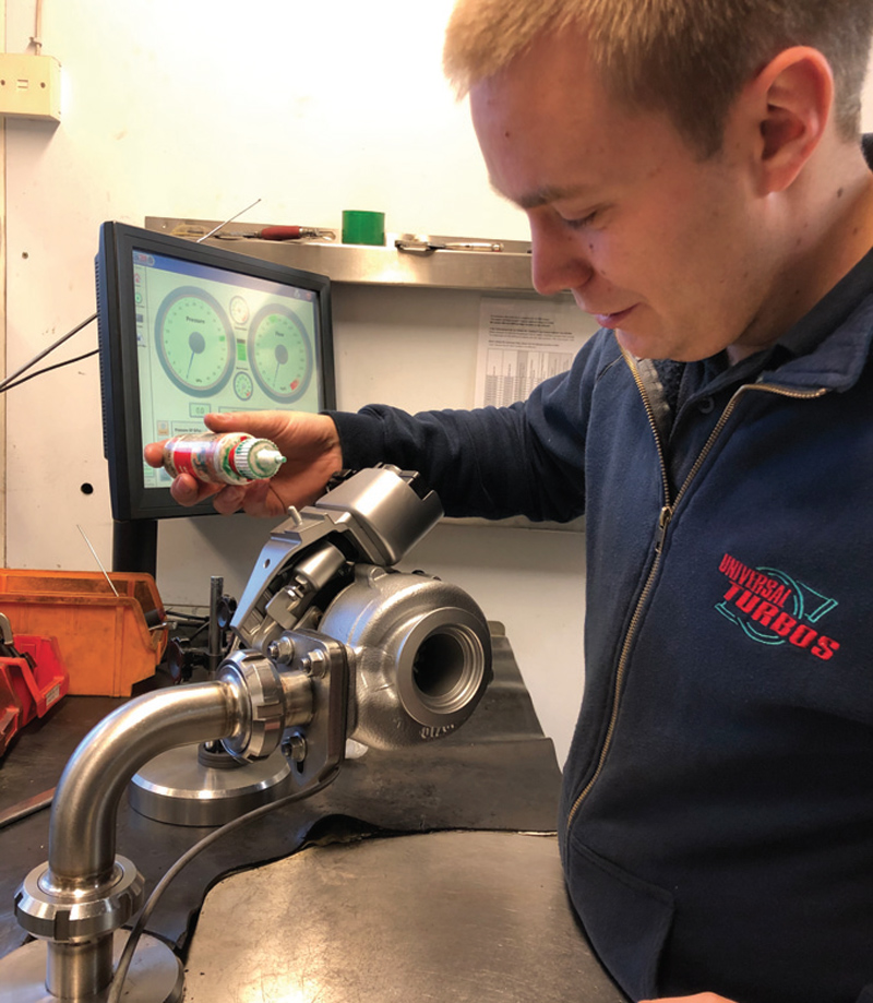 Universal Turbos outlines its services