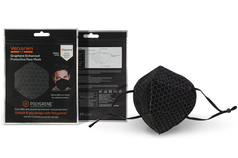 KPS launches graphene-enhanced face masks
