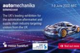 Automechanika Birmingham has been postponed