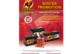 Banner Batteries launches Winter Sales Promotion