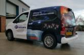 OSRAM wraps supplier's delivery vans