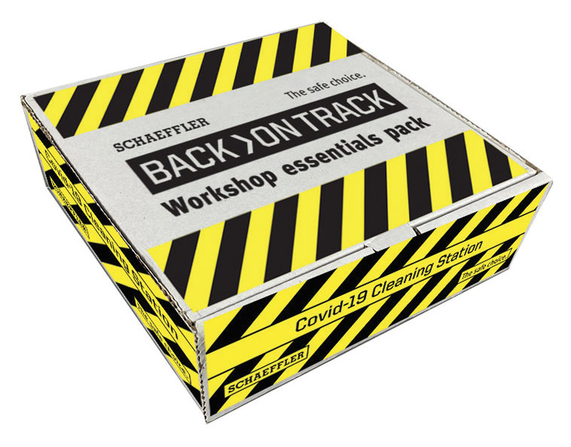 Schaeffler discusses 'back on track' pack