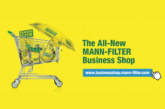 Mann-Filter creates advertising materials website