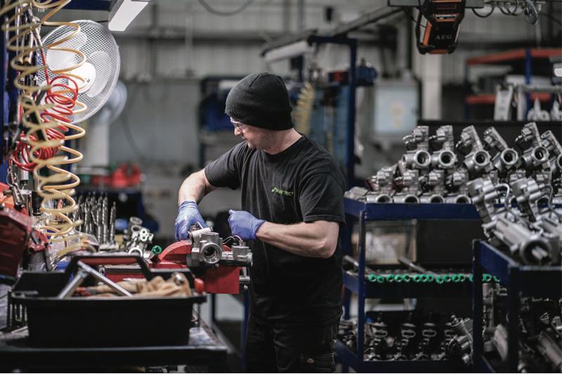 Shaftec discusses remanufactured parts