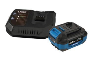 Laser Tools describes cordless tool range