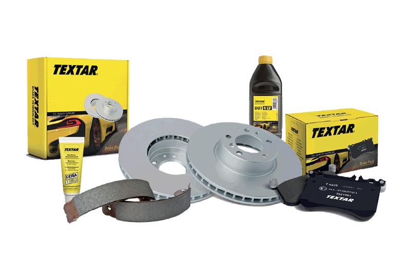 Textar adds to brake disc range