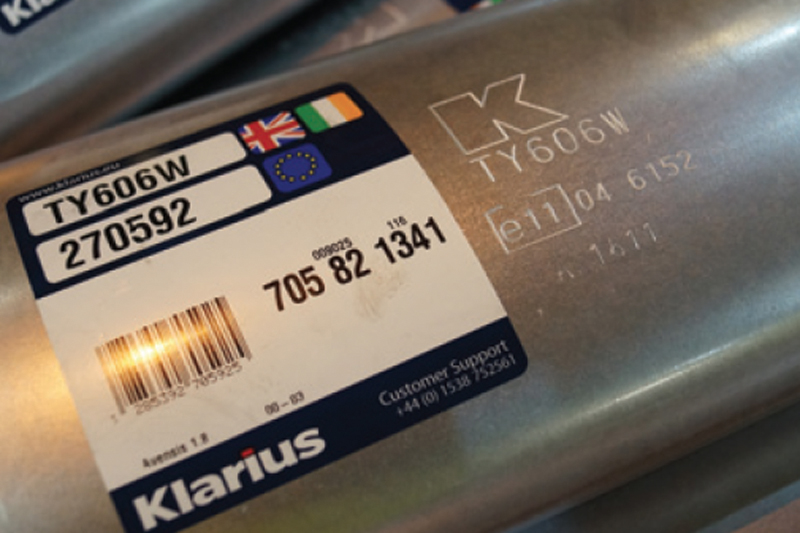 Klarius Products replacement exhausts