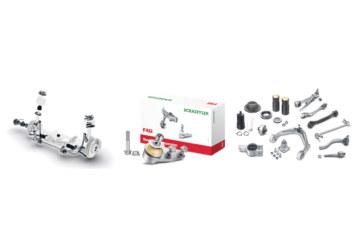 Schaeffler details FAG steering and suspension range