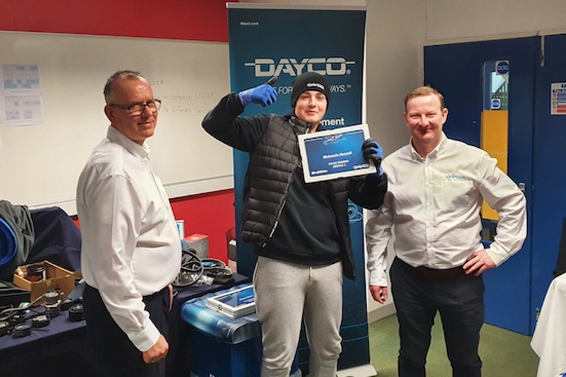 Dayco expands training programme