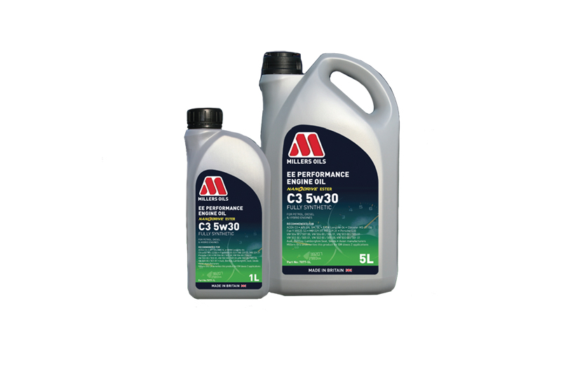 Millers Oils launches EE Performance Engine Oil