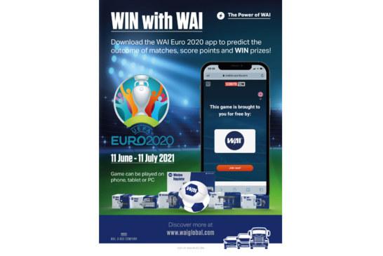 WAI kickstarts Euro 2020 with competition