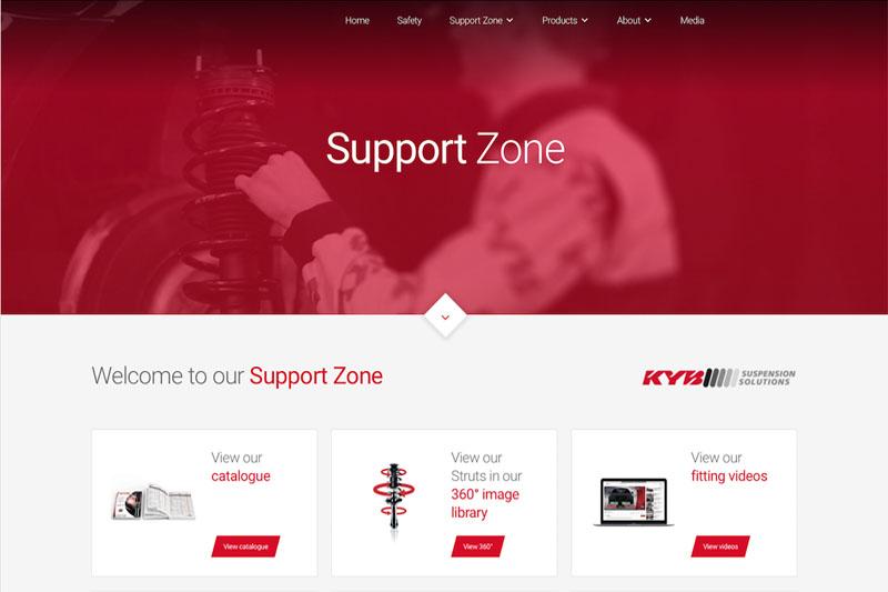 KYB announces website refresh