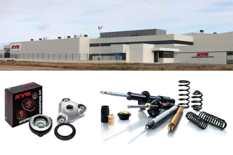 KYB details its shock absorber manufacturing facility