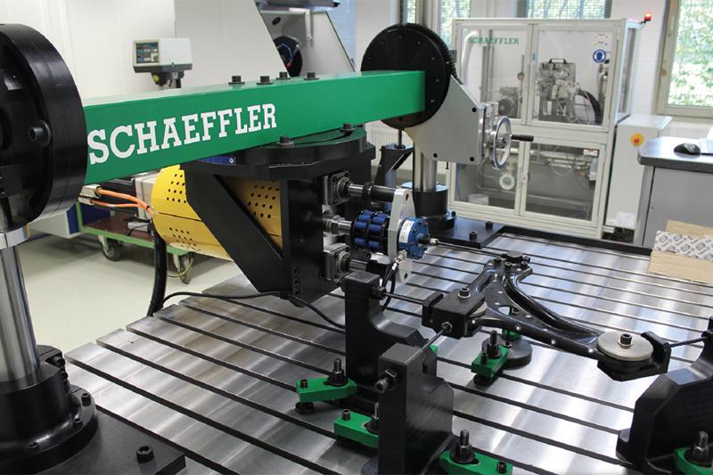 Schaeffler discusses steering and suspension range