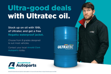 Arnold Clark Autoparts teams up with Ultratec